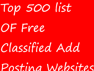 Top 50 Websites for Free Classified list