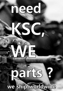 Sell KSC,WE Parts