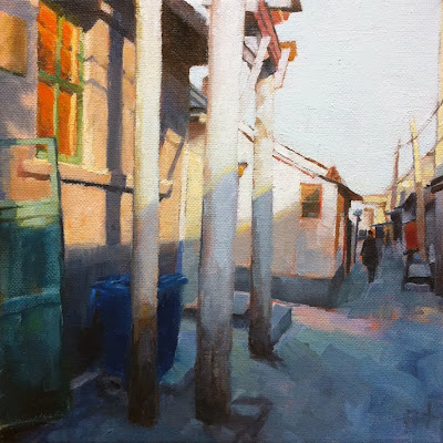 Beijing Hutong II by Liza Hirst