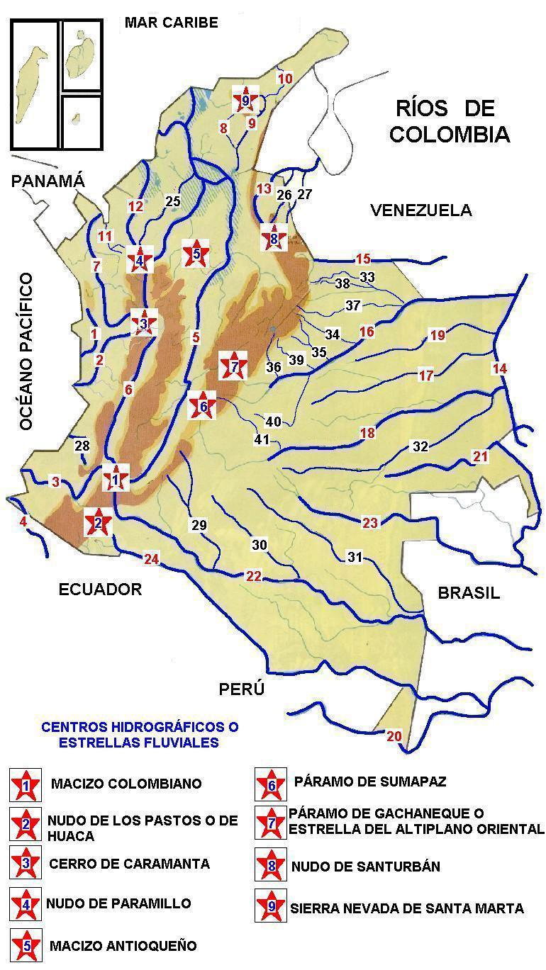 Mi tarea esta aqui mapa hidrografia de colombia mapa hidrografia de colombia thecheapjerseys Choice Image