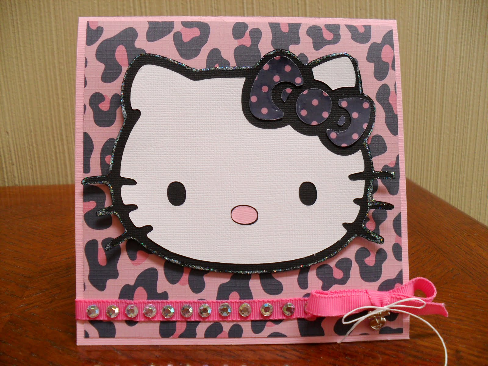 The unknown entertaining mind of miss dena jones another birthday another birthday card with the cricut hello kitty cart m4hsunfo