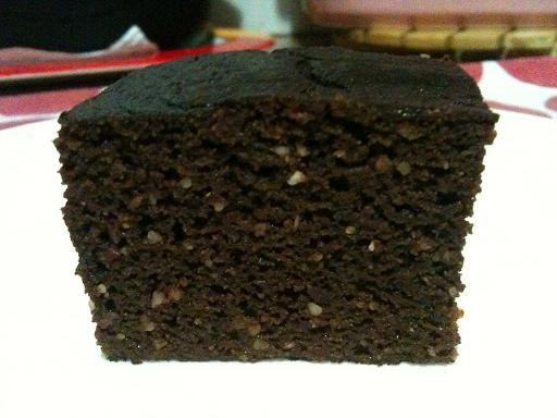 Slice of Paleo Chocolate Cake