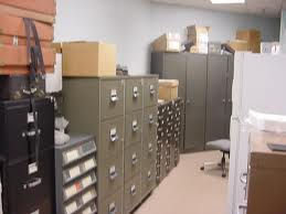 file room full of cards