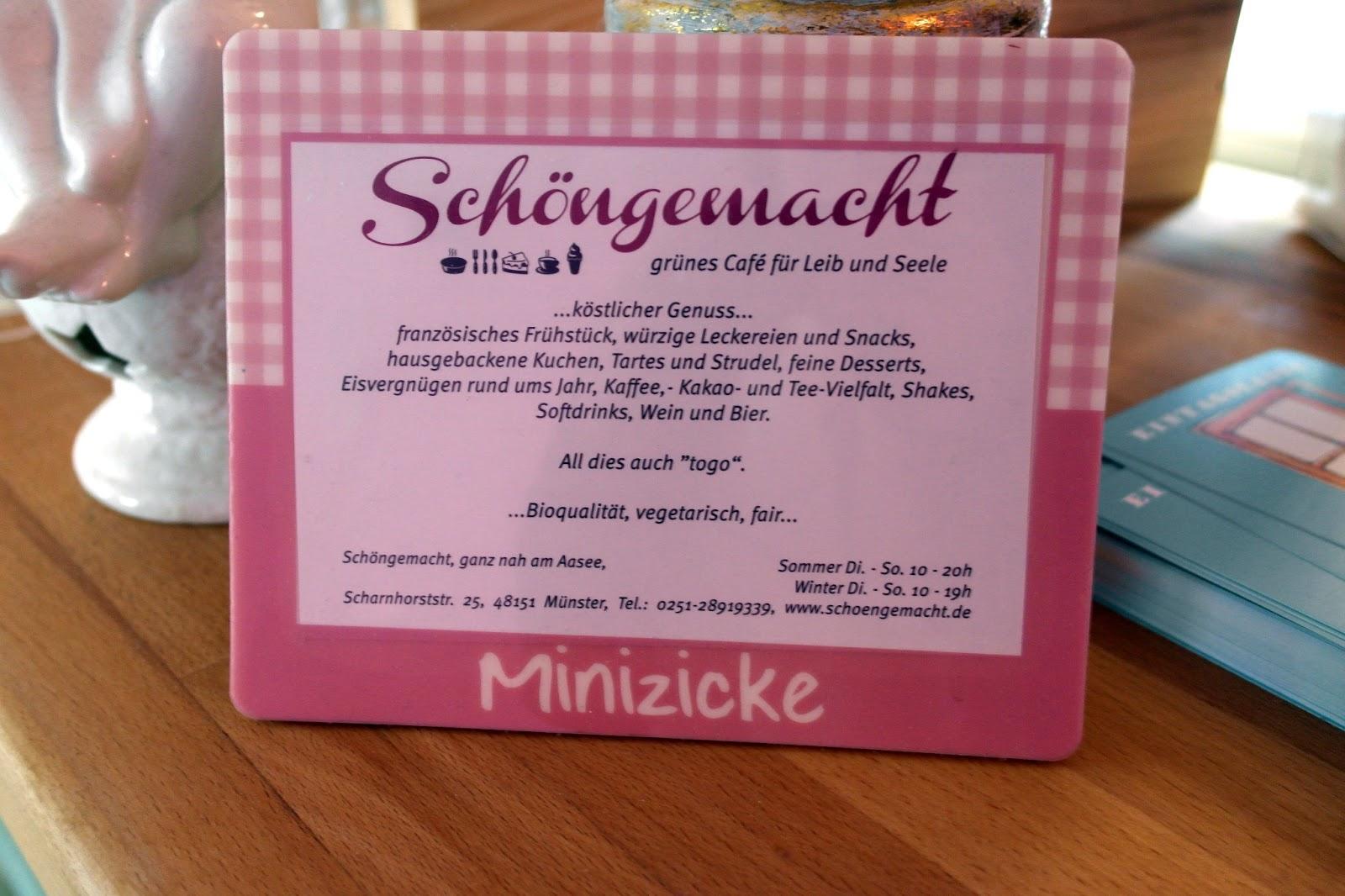 Milchkaffee-Mädchen: Cafévorstellung - Schöngemacht