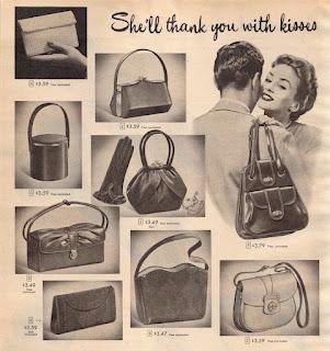 vintage handbag add