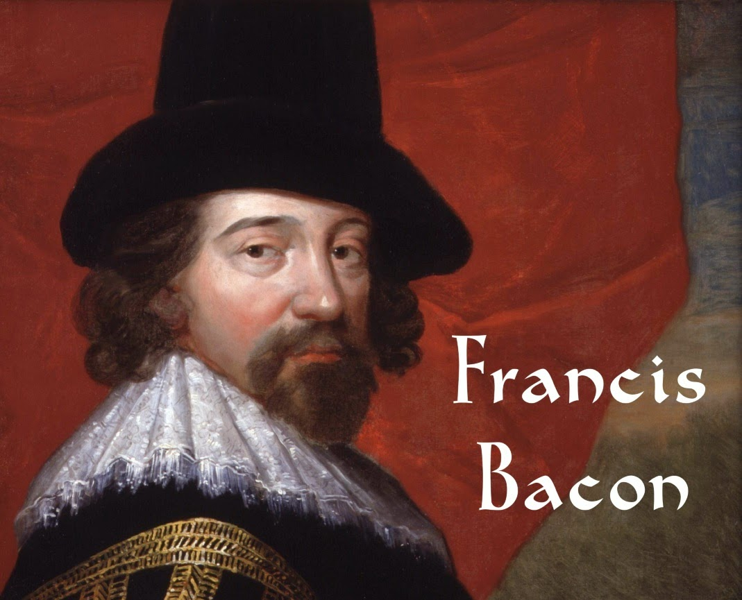 The philosopher Francis Bacon.