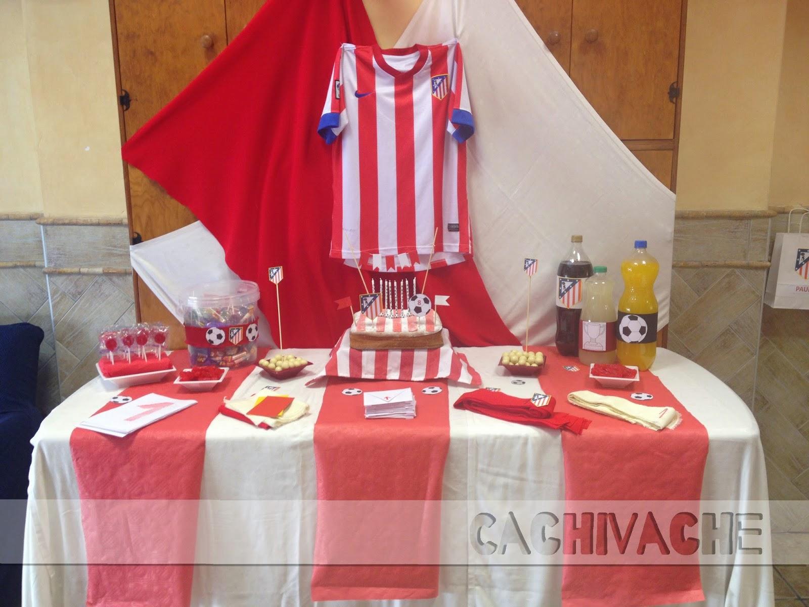 Fiesta de cumplea os atletico de madrid - Decoracion madrid ...