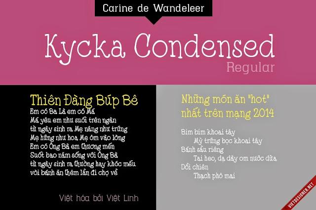 [Handwrite] Kycka Conden Việt hóa