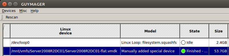 Mash That Key: Mounting the VMFS File System of an ESXi Server Using