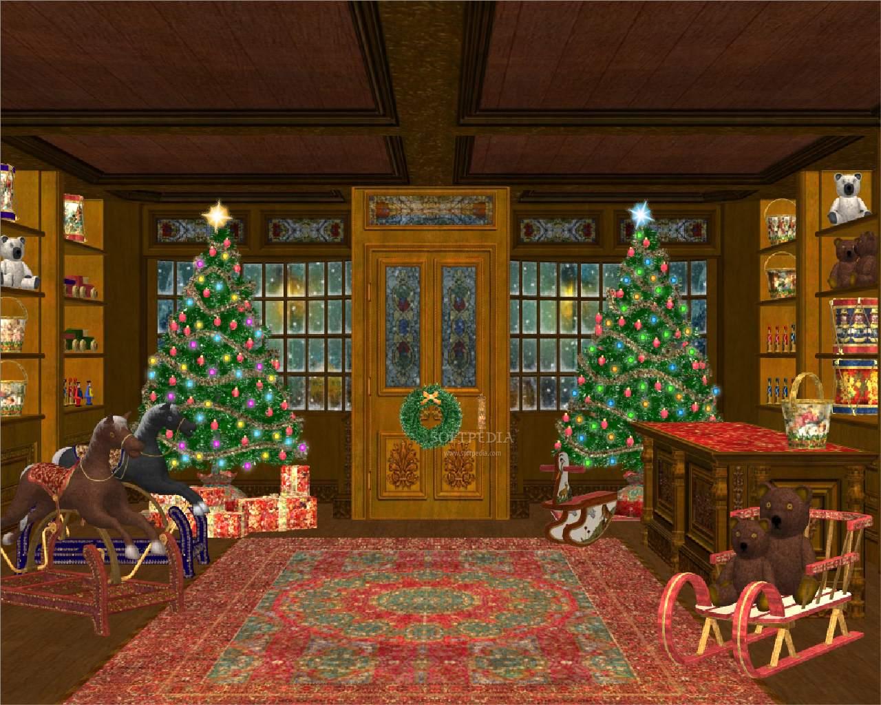 animated christmas desktop background - Free Desktop Wallpaper