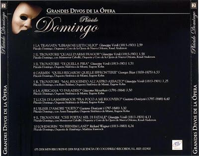 Grandes Divos de la Ópera-cd2-Plácido Domingo-carátula trasera
