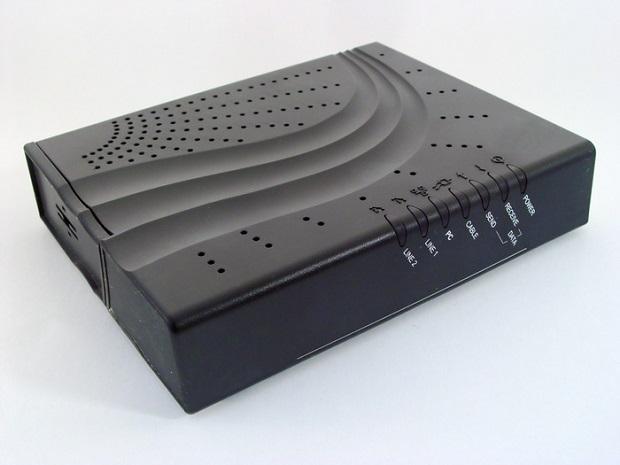 Modem modula sinais digitais para analógicos
