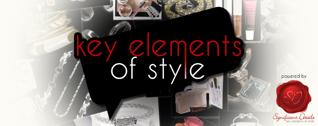 Key Elements of Style
