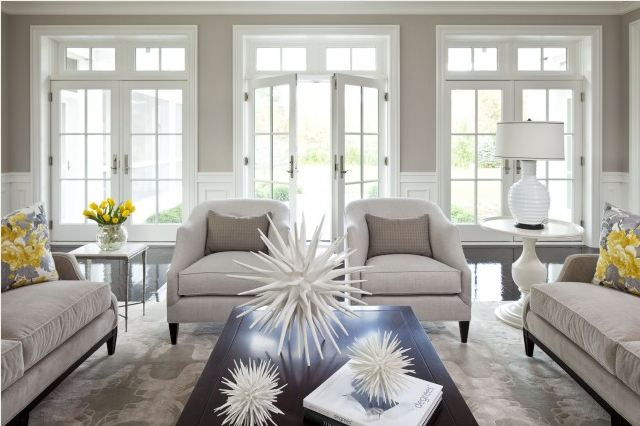 White Paint Colors for Living Room