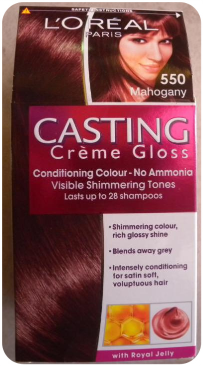 i will be honest by saying i dont really have a clue in what makes a great hair dye but box on the loreal casting crme gloss stated that it gives you - Coloration Casting Creme Gloss