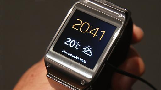 gadget samsung smart watch galaxy gear digital watch