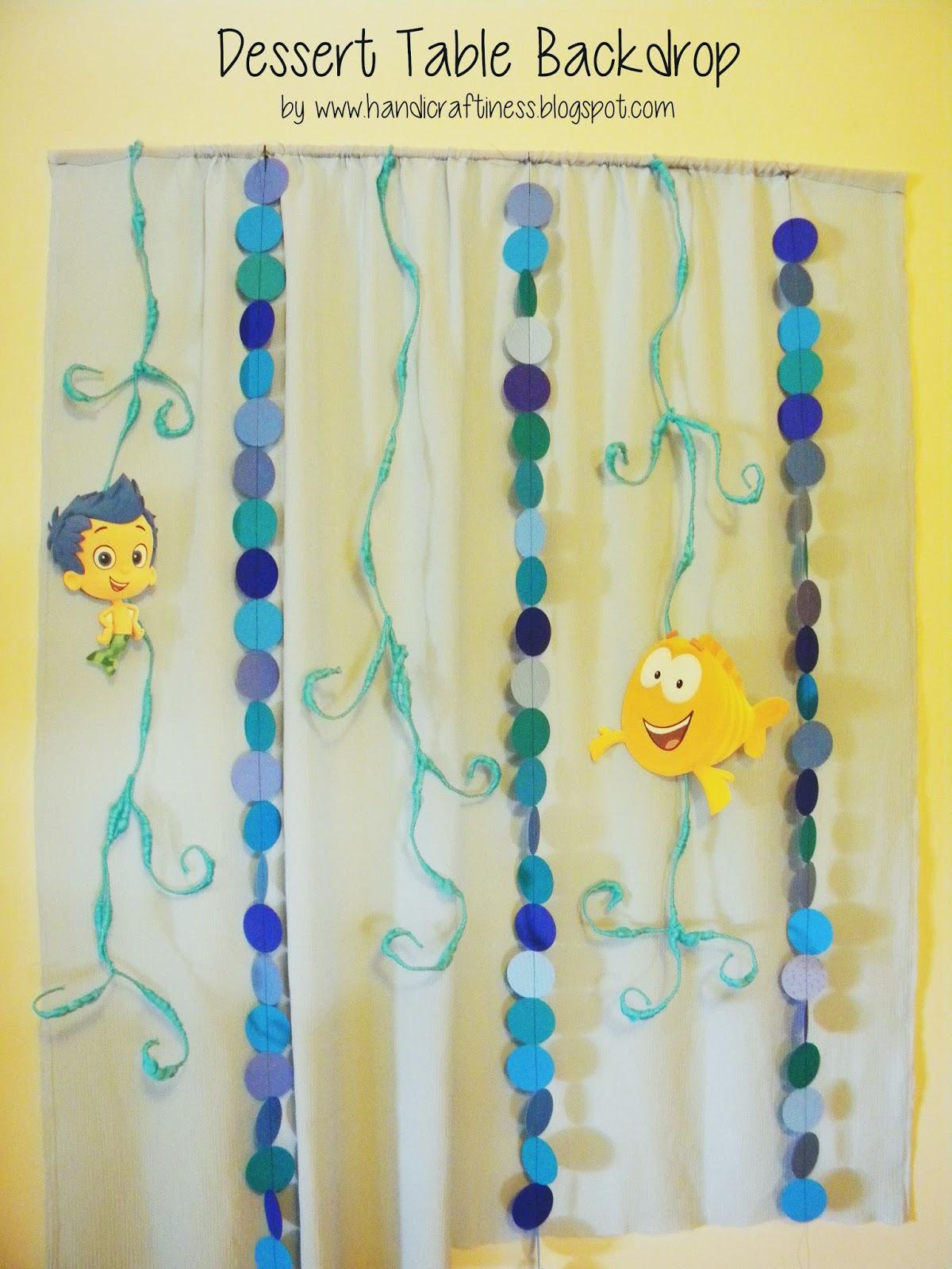 the pretty kitty studio bubble guppies diy party decor