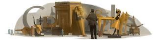 Howard Carter 2012 - Google Doodle