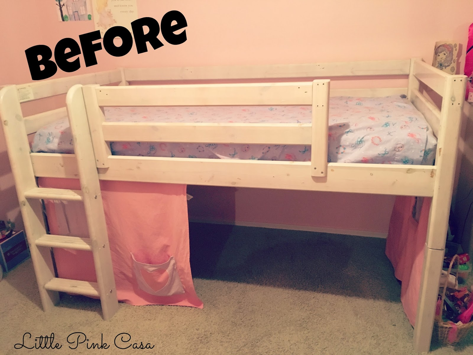 Hadara S New Big Girl Bed Little Pink Casa