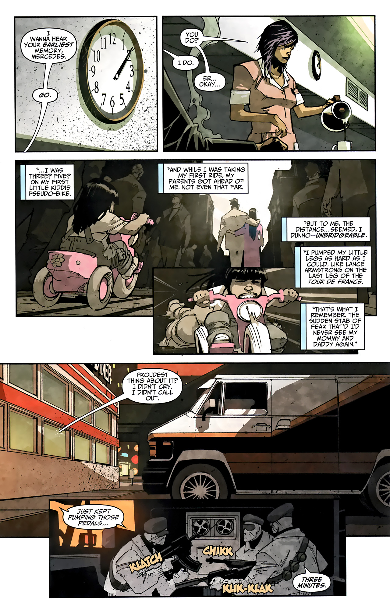 Read online Taskmaster (2010) comic -  Issue #1 - 5