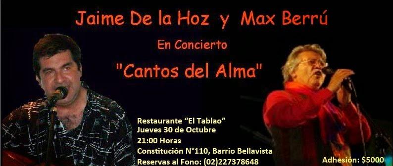 """INVITACION CONCIERTO """"CANTOS DEL ALMA"""""""