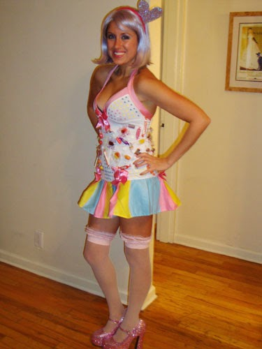 Katie Perry Candy Halloween Costume Homemade