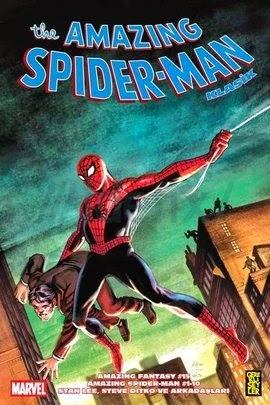 amazing spider-man klasik cilt 1