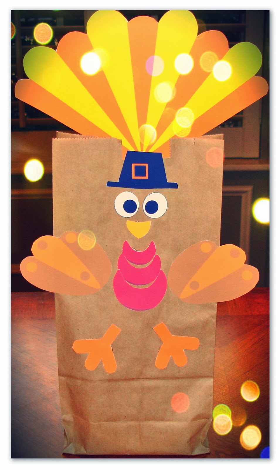 How to make an easy and affordable thanksgiving gift bag