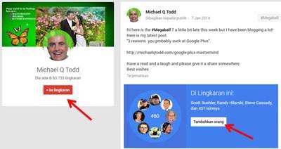 Cara Cepat Menambah Follower Google Plus