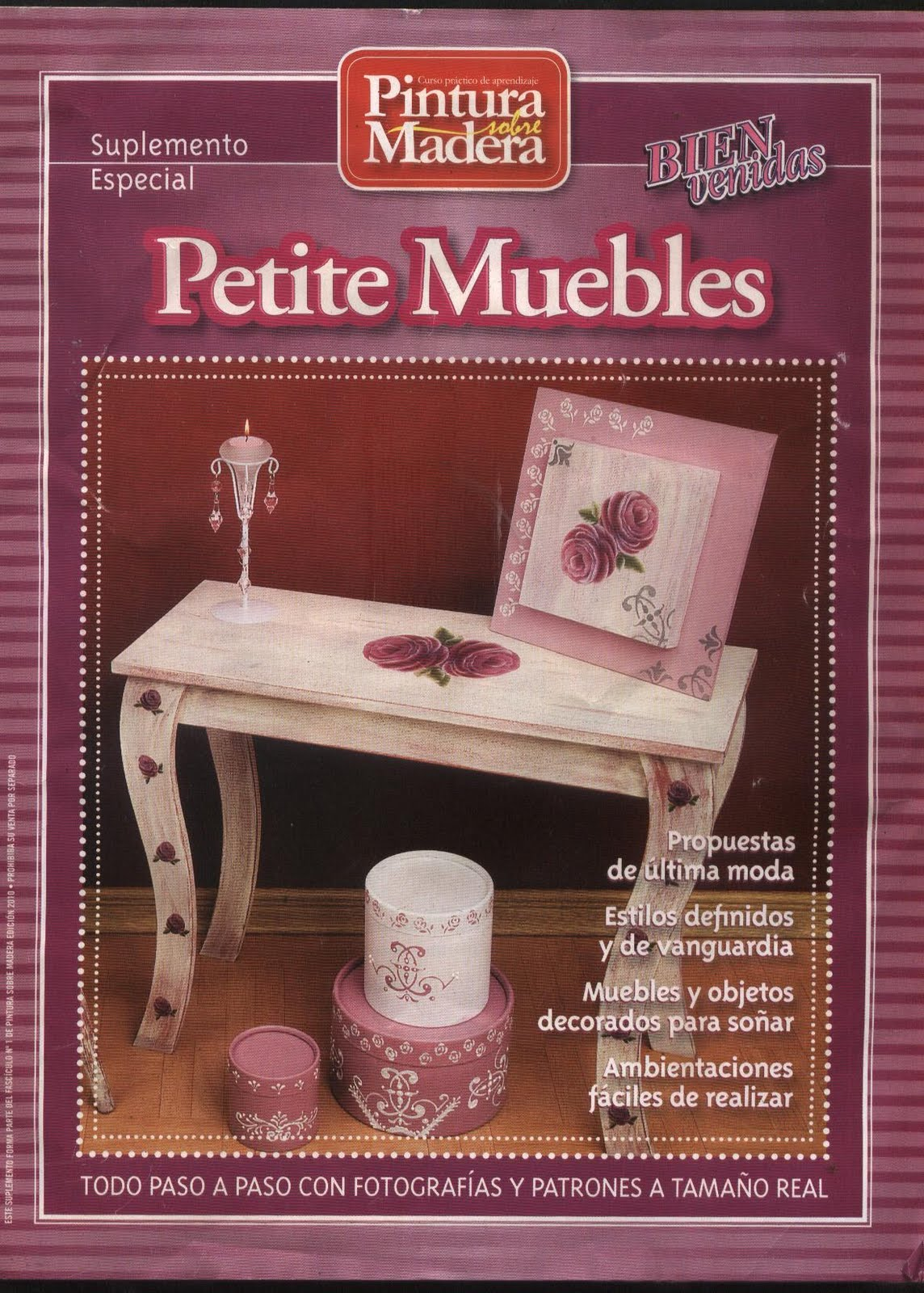 Revistas de manualidades para descargar suplemento for Pintura de muebles de madera