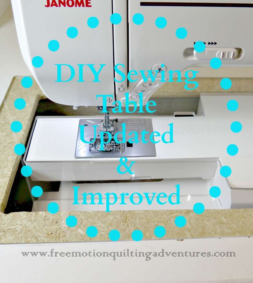 Make your own sewing table update