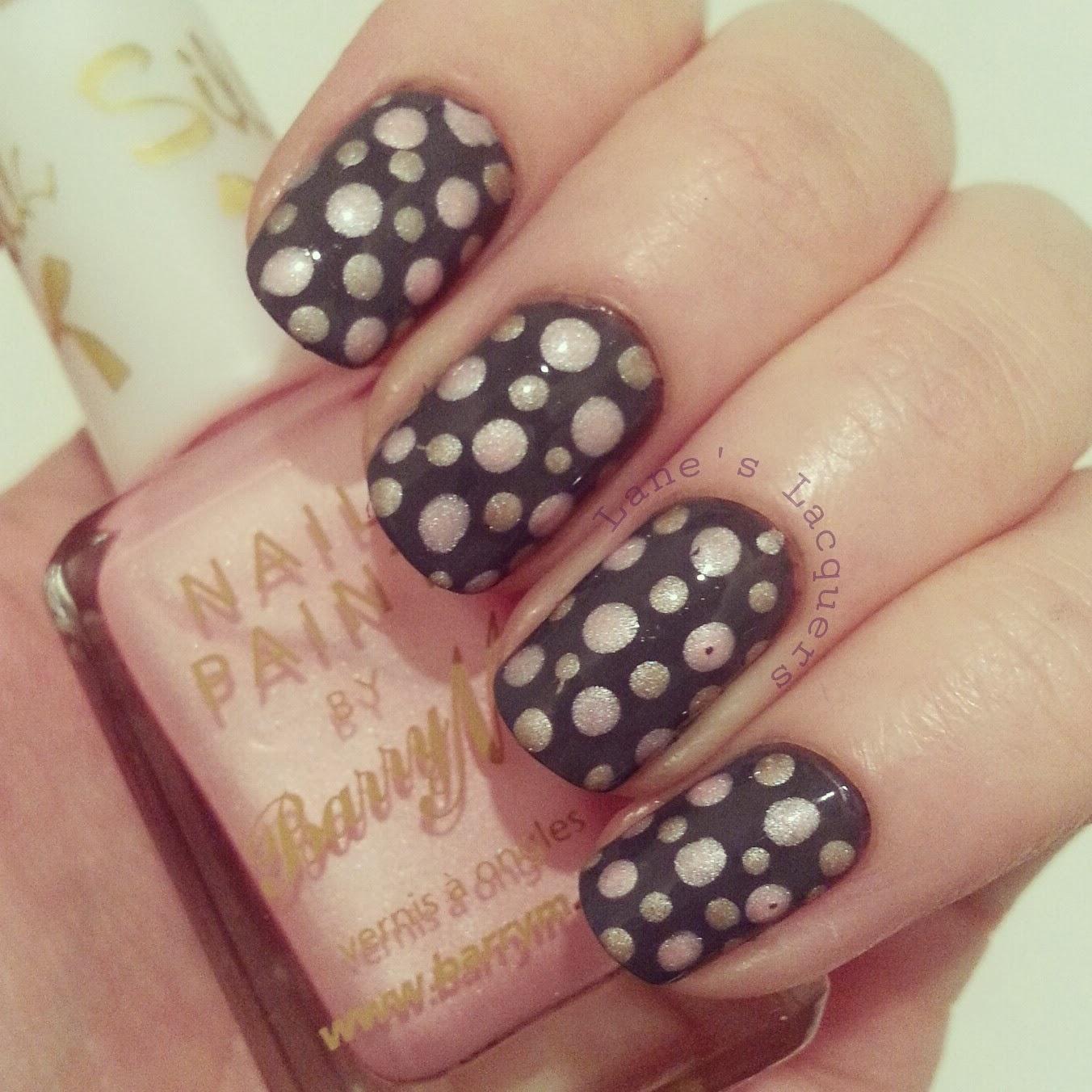 tri-polish-challenge-grey-pink-brown-spotty-nails