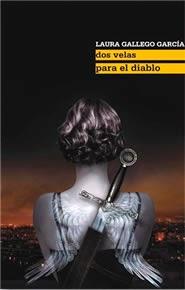 """Portada del libro """"Dos velas para el diablo"""", de Laura Gallego"""