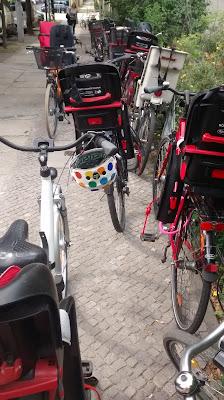 Interview mit berliner Polizei Radfahren mit Kind Runzelfuesschen