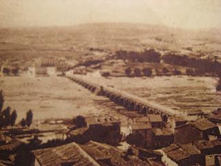El puente romano sobre el río Tormes