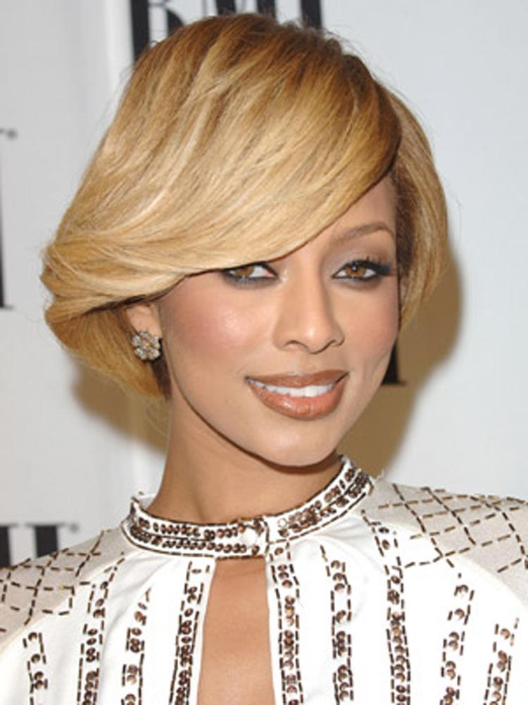 Popular Celebrity Bang Hairstyles Keri Hilson