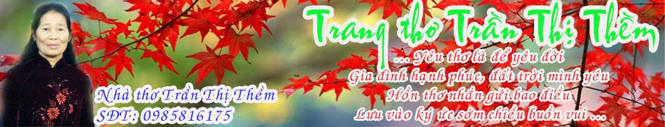 Trang thơ Trần Thị Thềm