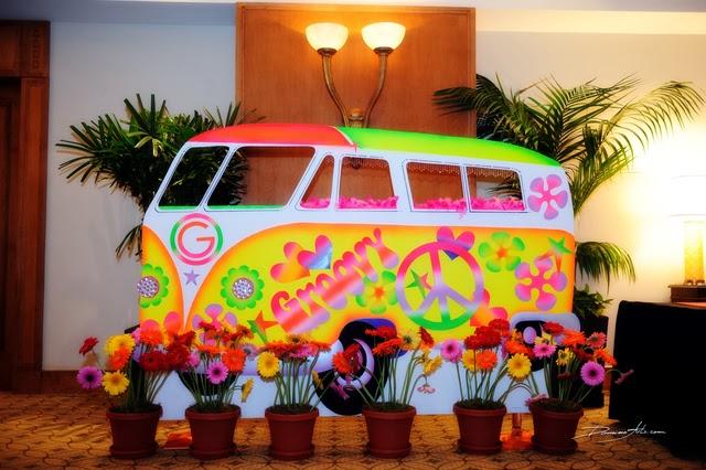 Fiesta De Quinceanera Carnaval Y Hippie 60s Temas Para Fiestas De - Decoracion-hippie-fiesta