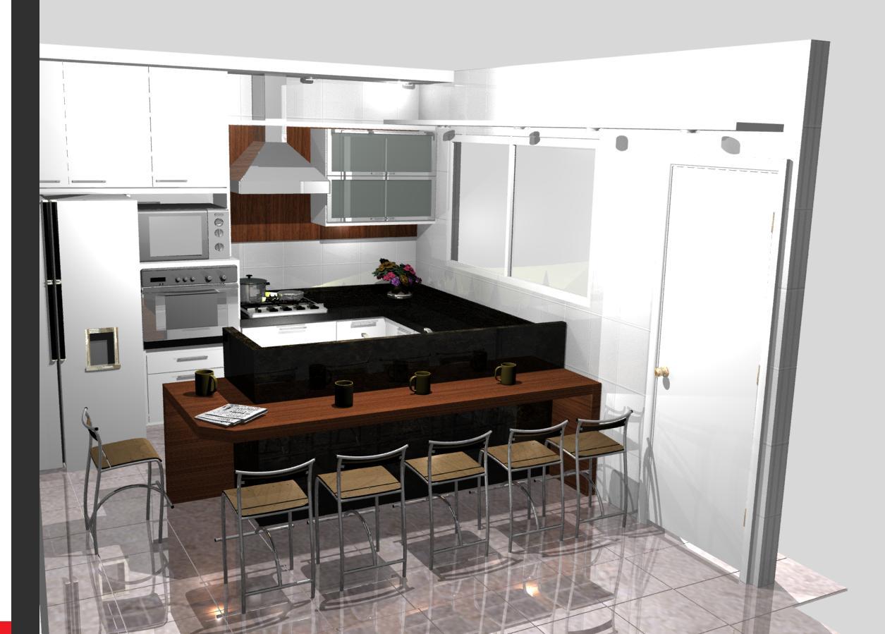 Cozinhas planejadas modernas sob medida e bonitas tattoo for Modelos de cocinas modernas pequenas
