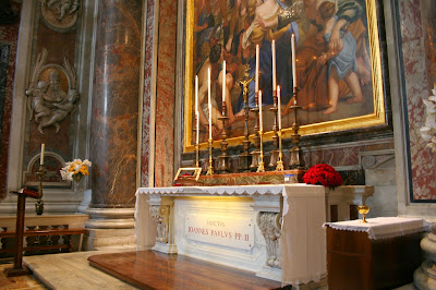 Tomb of St.John Paul II, St. Peter's Basilica
