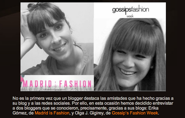 madrid is fashion olga gigirey gossipsfashionweek gossip fashion week