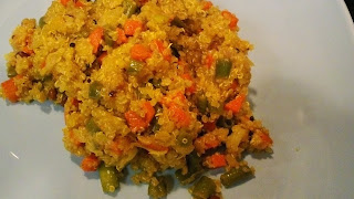 Quinoa Vegetable Upma