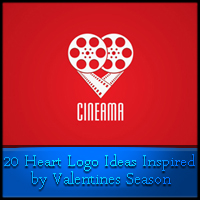 Heart Logo Ideas Inspired by Valentines Season