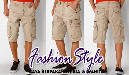 Harga Dan Model Celana Pendek Pria Terbaru 2015