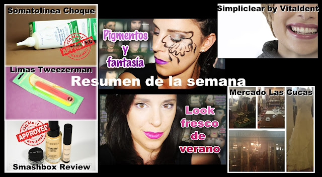 Resumen semana Julio July resume week Silvia Quiros SQ Beauty