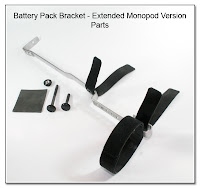 Battery Pack Bracket - Extended Monopod Version - Parts