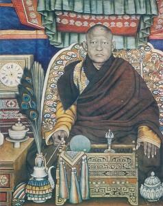 Boghd Khan, el rey-Buda instalado por el barón en Urga.  1869-1924