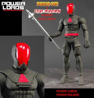 Four Horsemen Studios Power-Con Exclusive Power Lords Power Soldier Figure