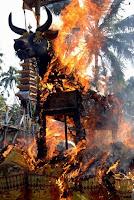 Upacara Adat Ngaben Bali...!!!