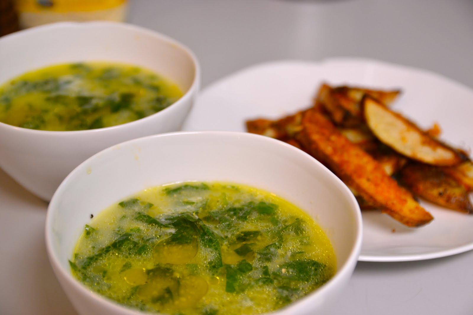 polenta and spinach soup creamed spinach polenta rustic spinach ...